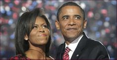 [Photo of Barack and Michelle Obama]