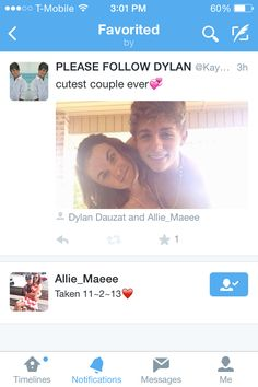 Awh fans are shipping #Dallie or #Allyn