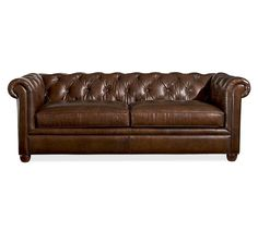 Handsome couch.