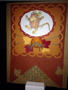 House Mouse fall themed