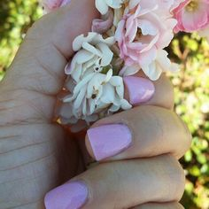 Tammy Taylor Prizma Pink Snowflake. Nails by Terrie
