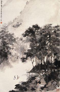 Fu Baoshi Paintings | Chinese Art Gallery | China Online Museum