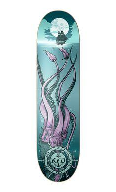 KFD - Deep Sea Death by One Horse Town Illustration Studio, via Behance