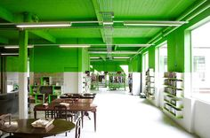I AM RECYCLED, Spain by PKMN #ceiling #paint