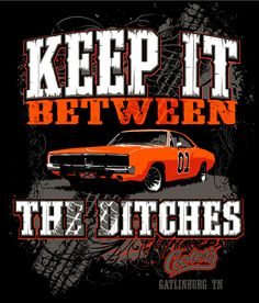 "New ""Keep It Between The Ditches"" T-Shirt (Black)"