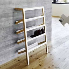 Furniture design Contemporary shoe rack / plywood / sheet steel MILA by Yuniic MOX AG Shoe Cabinet Design, Shoe Storage Design, Rack Design, Shoe Cupboard, Cupboard Wardrobe, Hall Furniture, Furniture Design, Furniture Storage, Contemporary Shoe Rack