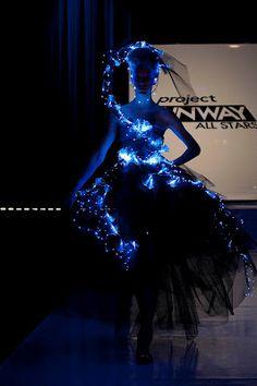 Fancy LED-lit dress