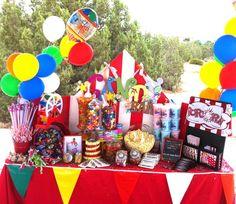 Carnival Fun!   Candy Bar Created by Nicole Montoya