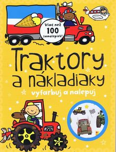 Paperback: Traktory a nákladiaky - viac než 100 samolepiek (autor neuvedený) | bux.sk