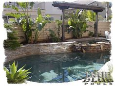Spool Pools For Small Yards pool designs, designing swimming pools, how to design a swimming pool . Pools For Small Yards, Small Swimming Pools, Small Backyard Pools, Swimming Pool Designs, Small Backyards, Spool Pool, Piscine Diy, Kleiner Pool Design, Small Pool Design