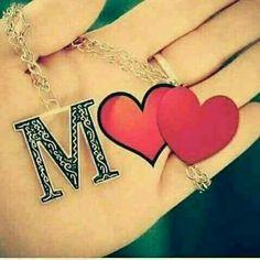 Name Design Art, M Letter Design, Alphabet Letters Design, Alphabet Stencils, Beautiful Love Images, Love Images With Name, Love Poetry Images, My Name Wallpaper, Alphabet Wallpaper
