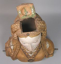 Saints Heads Article 2 -  American Duchess: V182: The Lovely Bones: Reliquary Busts of Female Saints