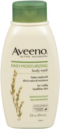 Aveeno® Active Naturals® Daily Moisturizing Body Wash.Helps replenish skin's natural moisture.For healthier looking skin.Dermatologist recommended. Nourishing oatmeal.