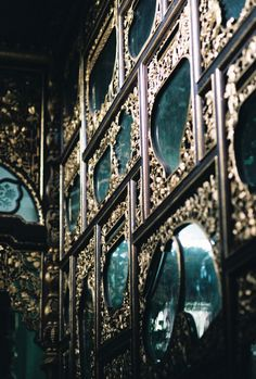 wall of #mirrors ...