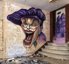David L in Barcelona, Spain, 2019 Grafitti Street, Murals Street Art, Urban Street Art, Urban Art, Graffiti Artwork, Amazing Street Art, Street Artists, Wall Art Designs, Public Art