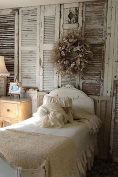 way to repurpose those old shutters.