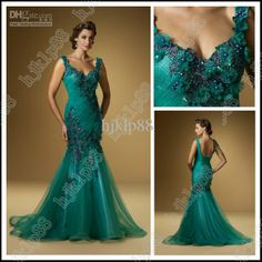 Wholesale Beautiful Exquisite Beaded Floral Ruched Organza Mermaid Mother of the Bride Special Sexy Dresses, Free shipping, $136.36/Piece | DHgate
