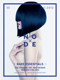 Node | Magazine Cover by Abby Chen, via Behance