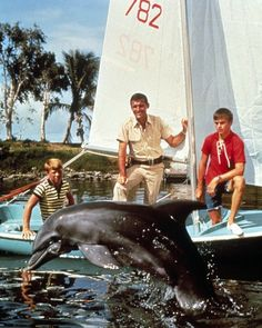 "Flipper, I always watched this, I had a big crush on ""Sandy"" the teenage son"