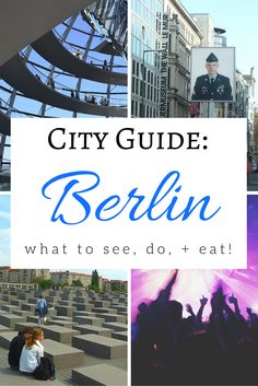 There are just so many things to do in Berlin, Germany! Click through for some must-do's, as well as what you shouldn't miss eating!