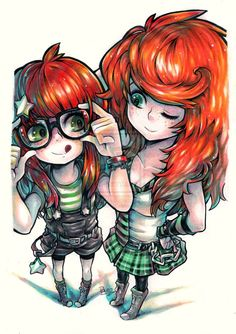 Sisters by *Pyromaniac on deviantART