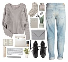 """""""Winter casual day (tag)"""" by berina-2000 ❤ liked on Polyvore featuring H&M, Preen, Toast, Ann Demeulemeester, Mullein & Sparrow, Limi Feu, NARS Cosmetics, Fountain, John Lewis and HAY"""