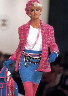Linda Evangelista, Chanel F/W 1991