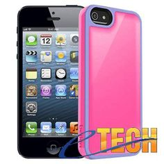 Belkin Pink and Purple Case with Interior Aireshock Pockets For iPhone 5