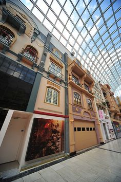 West Edmonton Mall, Edmonton, Alberta. Definitely the coolest part of the mall, it felt like you were outside