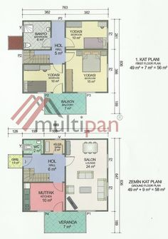 MPX4 114 Square Meters Separate Lounge / Kitchen 3 Bedrooms 2 Bathrooms Prefabricated Houses, Square Meter, Deco, Floor Plans, Lounge, Flooring, How To Plan, Bedroom, Storage