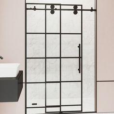 Vigo Shower Doors, Shower Door Hardware, Custom Shower Doors, Glass Shower Doors, Bathtub With Glass Door, Bathtub Doors, Frameless Sliding Shower Doors, Sliding Door, Farmhouse Shower Doors