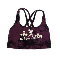 lululemon athletica Logo Energy Sports Bra - Shibori Tie Dye Purple