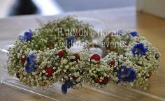 #flowergirl #flowercrown #babysbreath Flower Girls, Flower Crown, Table Decorations, Ring, Party, Flowers, Wedding, Crown Flower, Valentines Day Weddings