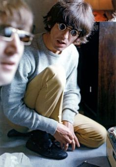 John and George...this shot makes me feel like they're still with us