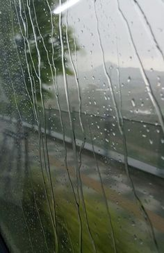 Photography of Window View and raindrops during a raining day. Rain Wallpapers, Wallpaper Backgrounds, Smell Of Rain, Rain Quotes, I Love Rain, Rain Days, Sound Of Rain, Rain Photography, Rainy Night
