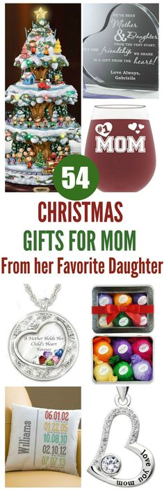 300 Christmas Gifts For Mom From Daughter Ideas In 2020 Christmas Gifts For Mom Gifts For Mom Best Christmas Gifts