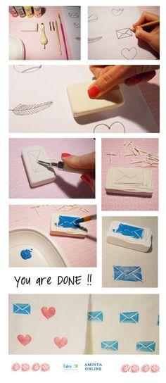 Cómo realizar sellos