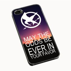 Hunger Games Quote iPhone 4(S) 5(S) 5C Cases