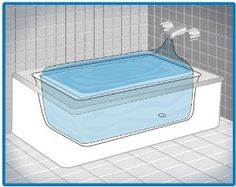 AquaPod Kit Emergency Water Storage Kit    is a bag you put in the tub and fill in an emergency. says it stores at least 65 gallons and keeps it clean for using. $27.00