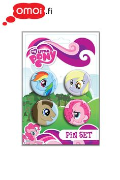 My Little Pony Badge set (set of 4) - 6,50 EUR : Manga Shop for Europe, A great selection of anime products