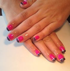 Contrast nails