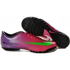 http://www.asneakers4u.com Nike Mercurial Vapor IX AG Artificial Grass Pink Purple Black Volt  Nike Vapor 9 Football Shoes