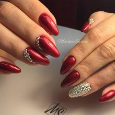 Cool Nail Designs in Red Color picture 6
