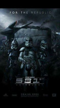 Welcome to the 501st.......... I would watch the sith out of this