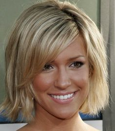Medium Hairstyles For Women Over 40 Classy Medium Hair With Wispy Bangs  Hairstyles For Women Over 40