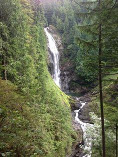 Wallace falls -byadamjacek #Washington #hiking #waterfall