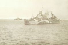 H.M.S Belfast and H.M.S Sheffield