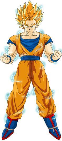 Goku Super Saiayin 2 by luigicuau10