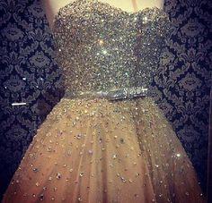 Vestido dourado e prata – Vestidos de 15 Anos