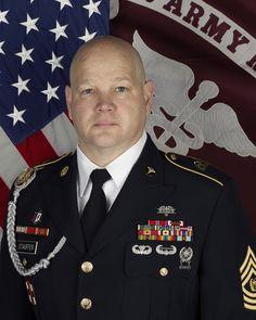 CSM Brian E. Stauffer, Command Sergeant Major, Fort Drum MEDDAC.  March 2, 2015